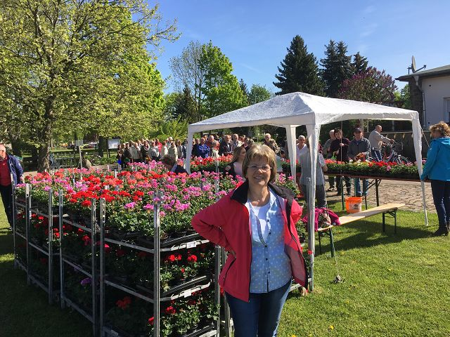 Blumenfest 2018 - Frau Liebmann